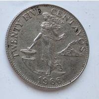 Филиппины 25 сентаво, 1964 3-11-24