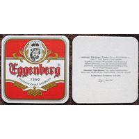 Подставка под пиво Eggenberg (Cesky Krumlov, Чехия)