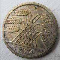 Германия. 10 рентенпфеннигов 1924 E .86