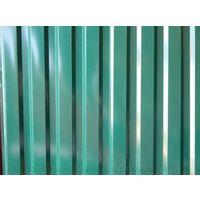 Профнастил двухсторонний зеленый