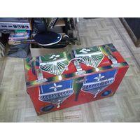 Чемодан, сундук, куфар, ящик факира, фокусника металлический 70*42*25 см.