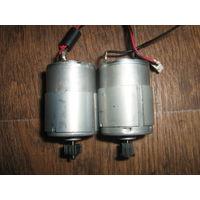 Небольшие электродвигатели из  принтера EPSO -2шт.