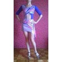 Платье танцевальное (бальное) на девочку р-р 38-40