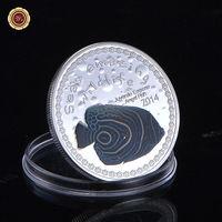 Республика Бурунди 5000 франков 2014г.  Рыба Juvenile Emporer Angel.  распродажа