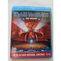 IRON MAIDEN  - En Vivo (2012, blu-ray, BD-R 50 GB)