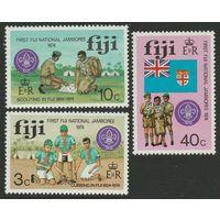 1974 Фиджи 324-326 Скауты 3,50евро