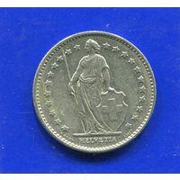 Швейцария 1 франк 1978