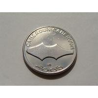 Камерун. 1500 франков 2005 год  /Первобытные деньги мамбила/ X#26 UNC-XF