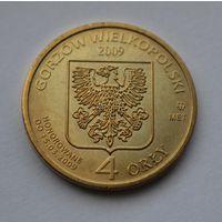 Польша, токен 4 Orly Стефан Баторий 2009 год.