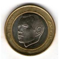 Марокко 10 дирхам 2002 года.