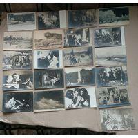 Распродажа коллекции!!! Большой лот царских почтовых карточек 38 штук+ Бонус. С 1 рубля! Без МПЦ!