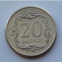 Польша 20 грошей. 2005