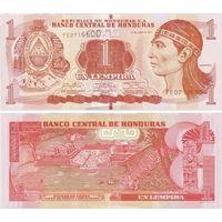 Гондурас  1  лемпира   2016 год  UNC