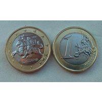 1 евро Литва 2015