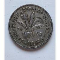Нигерия 1 шиллинг, 1962 3-11-27