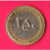 17-40 Иран, 250 риалов 2000 г.