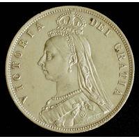 Великобритания полкроны 1887