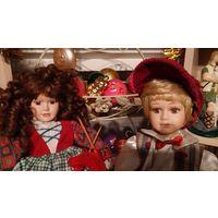 Кукла фарфоровая 40-42 см.