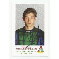 Руслан Нигматуллин(ФК Локомотив Москва, Россия). Живой автограф на фотографии #2