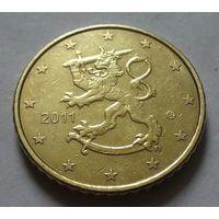 50 евроцентов, Финляндия 2011 г.