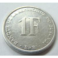 Бурунди 1 франк 2003 г