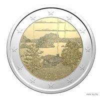 2 евро 2018 Финляндия Финская сауна UNC из ролла