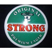 Фаянсовый значок на пивную башню (Strong)