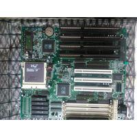 Материнская плата 90х годов процессор 486 процессор старт с рубля.