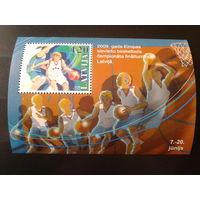 Латвия 2009 Баскетбол блок