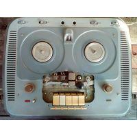 Магнитофон Тембр 1968 г бобинный катушечный бобинник