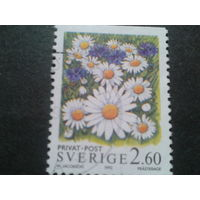 Швеция 1993 цветы