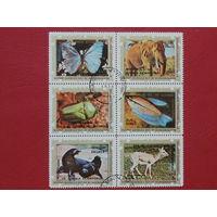 Гвинея 1976г. Фауна.