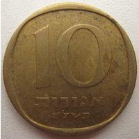 Израиль 10 агорот 1976 г. (d)