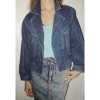 Куртка джинсовая легкая . Размер 46-48