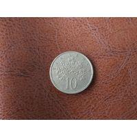 10 центов 1982 Ямайка