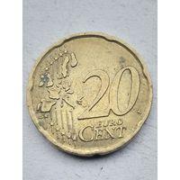 20 евро центов Италия