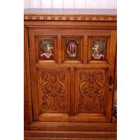 Антикварный старинный кабинет.Европа 19 век.