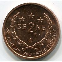 (A5) САМОА - 2 СЕНЕ 2000 UNC