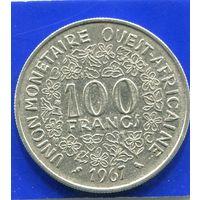 Западная Африка 100 франков 1967