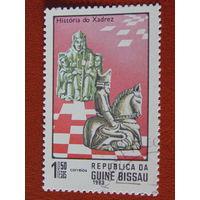 Гвинея-Бисау 1983г. Спорт.
