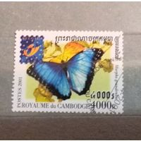 Камбоджа.2001г.Бабочка.
