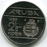 АРУБА - 2-1/2 ФЛОРИНА 1989