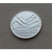 Чехия, 200 крон 2009 г., серебро