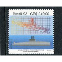 Бразилия. Первая подводная лодка