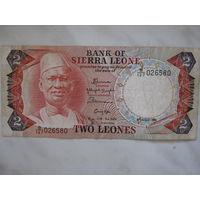 Сьерра Леоне 2 леоне 1985 г.