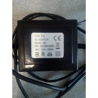 Yin yu ac adapter j83 адаптор блок питания 12 вольт