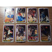 Наклейки PANINI NBA Basketball 1999-2000