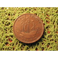 1/2 пенни 1938 Британия KM# 896 бронза 710