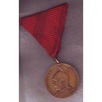 Германская Империя, Медаль. Кайзер Вильгельм II, 1860-1910.. ТОРГИ! С 1 РУБЛЯ!