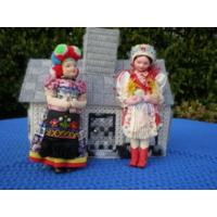 Куклы в национальном костюме.